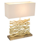 Tischleuchte »JAMIE« natur mit 60 W, H: 50 cm, E27 ohne Leuchtmittel-Thumbnail