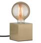 PAULMANN Tischleuchte messing gebürstet mit 20 W, H: 8,5 cm, E27 ohne Leuchtmittel-Thumbnail