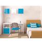 NÄVE Tischleuchte »Pastell«, blau, Höhe: 38 cm-Thumbnail