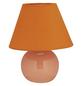 BRILLIANT Tischleuchte »Primo« orange mit 40 W, Schirm-Ø x H: 20 x 23 cm, E14 ohne Leuchtmittel-Thumbnail