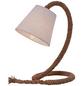 NÄVE Tischleuchte »Rope« natur mit 40 W, H: 38 cm, E14 ohne Leuchtmittel-Thumbnail
