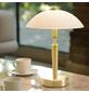 EGLO Tischleuchte »SOLO 1« weiß/messingfarben mit 60 W, H: 35 cm, E14 ohne Leuchtmittel-Thumbnail