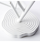 BRILLIANT Tischleuchte Weiß mit 28 W, H: 46,00 cm, E14 ohne Leuchtmittel-Thumbnail