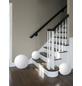 Tischleuchte Weiß mit 60 W, H: 30 cm, E27 ohne Leuchtmittel-Thumbnail