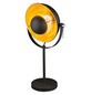 Tischleuchte »XIRENA« schwarz/goldfarben mit 40 W, H: 56,5 cm, E27 ohne Leuchtmittel-Thumbnail