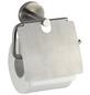 WENKO Toilettenpapierhalter »Bosio«, H x B x T: 13,5 x 15 x  cm, edelstahlfarben-Thumbnail