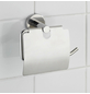 WENKO Toilettenpapierhalter »Bosio Shine«, H x B x T: 13,5 x 15 x 7 cm, edelstahlfarben-Thumbnail