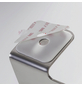 TIGER Toilettenpapierhalter »Colar«, BxHxT: 16 x 10,3 x 7,6 cm, edelstahlfarben-Thumbnail