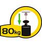 Toilettenpapierhalter, Höhe: 8,5 cm, edelstahlfarben-Thumbnail