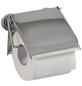 WENKO Toilettenpapierhalter »Power-loc Cover«, Stahl, chromfarben-Thumbnail