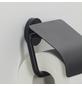 TIGER Toilettenpapierhalter »Urban«, BxHxT: 13,8 x 12,6 x 4,5 cm, schwarz-Thumbnail