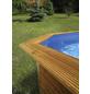 WEKA Toprail für Massivholzpool, Holz, Länge: 116 cm-Thumbnail