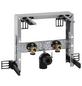 GEBERIT Trageelement »Kombifix«, BxHxT: 350 x 335 x 80 mm, Montagetiefe verstellbar 8 - 19 cm / Traverse für Armatur höhenverstellbar, grau-Thumbnail