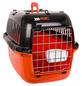 Transportbox, BxHxT: 50 x 30 x 30 cm, schwarz/orange-Thumbnail