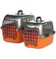 Transportbox, BxHxT: 57 x 38 x 38 cm, schwarz/orange-Thumbnail