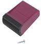 KRAUSE Traversenfußkappe »CORDA«, violett, Kunststoff-Thumbnail