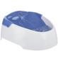 TRIXIE Trinkbrunnen, Kunststoff, Weiß | Blau-Thumbnail