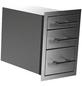 MR. GARDENER Triple drawer, BxHxT: 37,9 x 54 x 58 cm, EdelStahl-Thumbnail