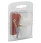 ANSAPRO Türstopper, Kunststoff, weiß, glänzend-Thumbnail
