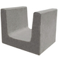 EHL U-Stein, BxHxL: 50 x 40 x 40 cm, Beton-Thumbnail