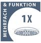 SCHÜTTE Überkopfbrause-Set »Madura Fresh«, Ø Kopfbrause 23,8 cm, edelstahlfarben-Thumbnail
