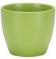 SCHEURICH Übertopf, Breite: 9 cm, weiß/grün/taupe/pink, Keramik-Thumbnail