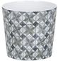 SCHEURICH Übertopf »MOSAIC«, ØxH: 12,8 x 11,8 cm, weiß/beige/taupe/grau, Keramik-Thumbnail