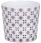 SCHEURICH Übertopf »MOSAIC«, ØxH: 15,1 x 13,5 cm, weiß/grau/rose, Keramik-Thumbnail