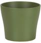 SCHEURICH Übertopf, ØxH: 11 x 9,3 cm, grün, Keramik-Thumbnail