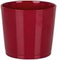 SCHEURICH Übertopf, ØxH: 12 x 10,5 cm, rot, Keramik-Thumbnail