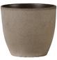 SCHEURICH Übertopf, ØxH: 22 x 19,5 cm, braun, Keramik-Thumbnail