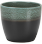 SCHEURICH Übertopf »SHADES«, ØxH: 14 x 12,1 cm, grün/anthrazit, Keramik-Thumbnail