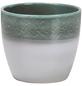 SCHEURICH Übertopf »SHADES«, ØxH: 16 x 14 cm, weiß/grün, Keramik-Thumbnail