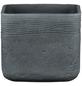 SCHEURICH Übertopf »SOLID«, BxH: 16,5 x 13,6 cm, grau, Keramik-Thumbnail