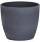 SCHEURICH Übertopf »STONE«, ØxH: 28 x 25,2 cm, grau, Keramik-Thumbnail