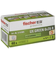 FISCHER Universaldübel, UX GREEN, Nylon, 40 Stück, 6 x 35 mm-Thumbnail