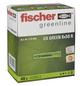 FISCHER Universaldübel, UX GREEN, Nylon, 40 Stück, 8 x 50 mm-Thumbnail