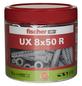 FISCHER Universaldübel, UX, Nylon, 75 Stück, 8 x 50 mm-Thumbnail