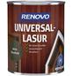 RENOVO Universallasur, für innen & außen, 0,75 l, Ebenholz, seidenglänzend-Thumbnail