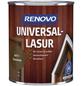 RENOVO Universallasur, für innen & außen, 0,75 l, Kastanie, seidenglänzend-Thumbnail