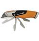 FISKARS Universalmesser mit feststehender Klinge, CarbonMax, CarbonMax, Schwarz | Orange-Thumbnail