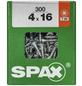 SPAX Universalschraube, 4 mm, Stahl, 300 Stk., TRX 4x16 L-Thumbnail
