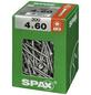 SPAX Universalschraube, 4 mm, Stahl, 300 Stk., TRX 4x60 XXL-Thumbnail