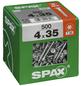 SPAX Universalschraube, 4 mm, Stahl, 500 Stk., TRX 4x35 XXL-Thumbnail