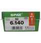 SPAX Universalschraube, 6 mm, Stahl, 50 Stk., TRX 6x140 L-Thumbnail