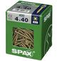 SPAX Universalschraube, Kreuzschlitz Z, 400 Stk., 4 x 40 mm-Thumbnail
