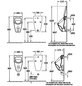 VILLEROY & BOCH Urinal, Subway, Alpinweiß, Sanitärporzellan-Thumbnail