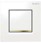 GEBERIT Urinalsteuerung, goldfarben/weiß-Thumbnail