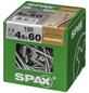 SPAX Verlegeschraube, 4,5 mm, Stahl, 150 Stk., Renovation 4,5x60 XXL-Thumbnail