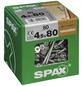 SPAX Verlegeschraube, 4,5 mm, Stahl, 80 Stk., Renovation 4,5x80 XXL-Thumbnail